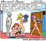 Pervert Jack - Adult Comics Featuring the Misadventures of that Lovable Pervert! - www.pervertjack.com